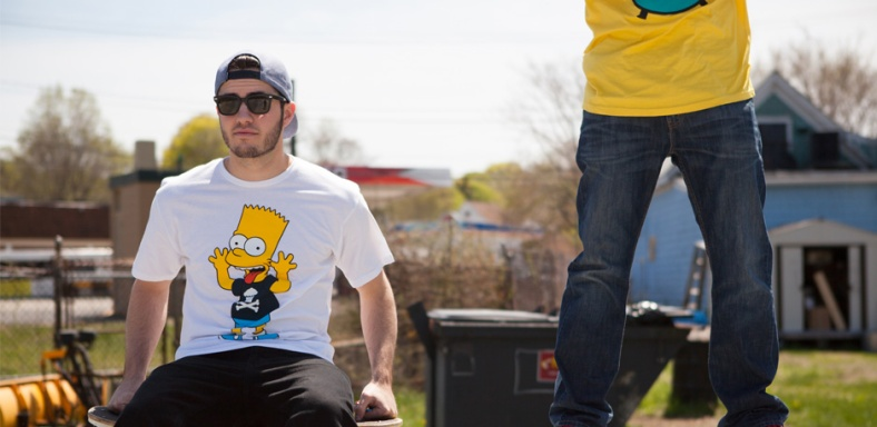 johnny cupcakes-simpsons